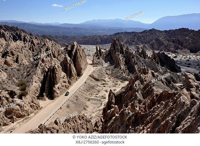 Argentina, Salta region, Ruta 40 Quebrada de las fiechas