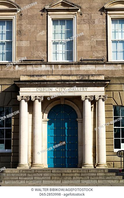 Ireland, Dublin, Parnell Square, Dublin City Gallery, The Hugh Lane, art gallery exterior