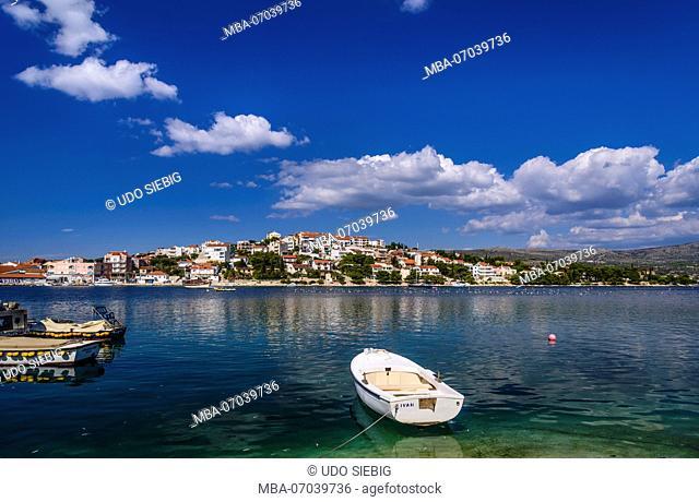 Croatia, Dalmatia, region of Sibenik, Rogoznica, fishing port