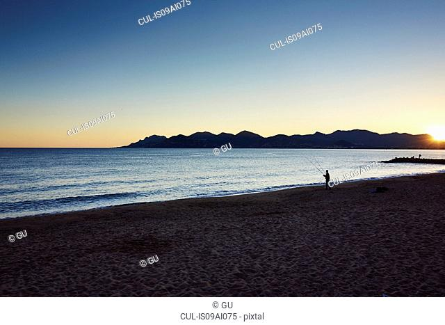 Tranquil scene, French Riviera, Cannes, France