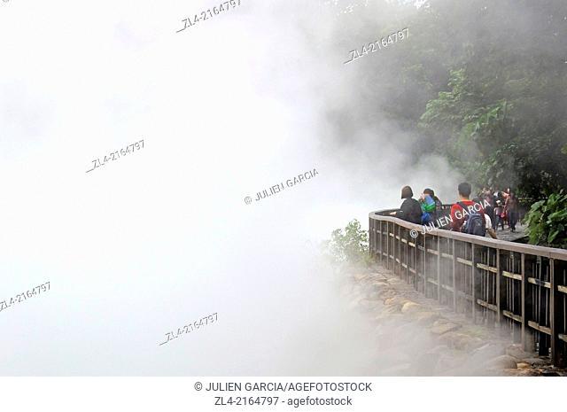 Beitou hot springs. Taiwan (China), Taipei, Beitou district