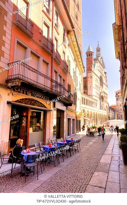 Italy, Lombardy, Cremona, the Duomo