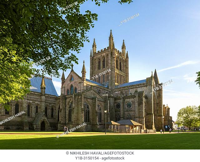 Hereford Cathedral, UK