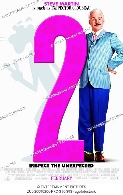 RELEASE DATE: 6 February 2009. MOVIE TITLE: The Pink Panther 2. STUDIO: Columbia Pictures. PLOT: Insp. Jacques Clouseau teams up with a squad of International...