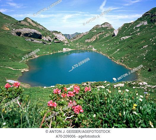 Spilauersee. Switzerland