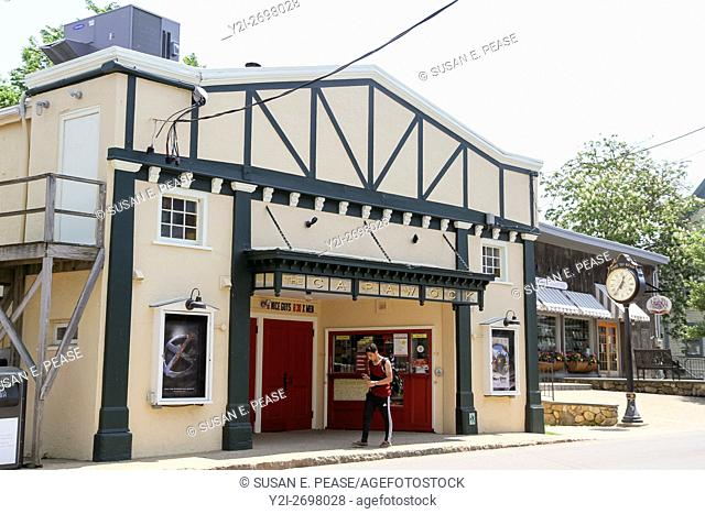 The Capawock Theatre, Vineyard Haven, Martha's Vineyard, Massachusetts, United States, North America