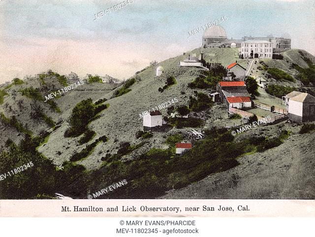 Lick Observatory, Mount Hamilton, San Jose, Santa Clara County, California, USA