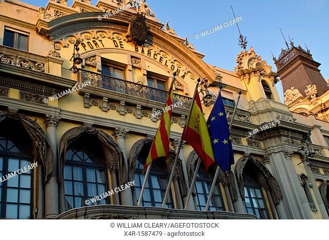 Customs House in Barcelona, Spain