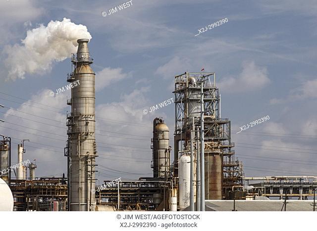 Houston, Texas - Valero oil refinery