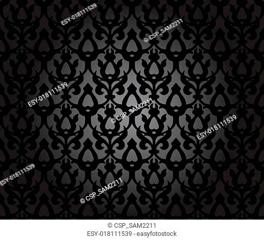 Seamless Background Traditional Arabic Motifs
