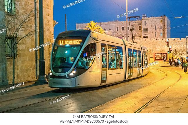 Jerusalem light train