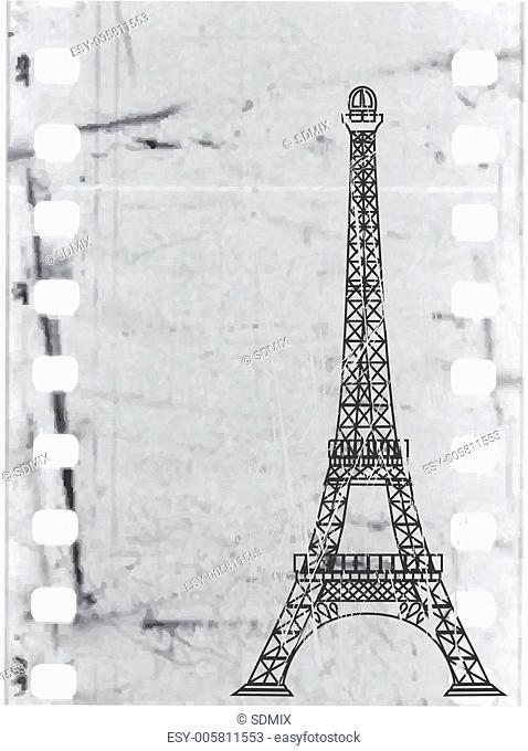 the vector eiffel tower