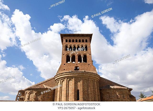 Sahagún, Spain: The Church of San Tirso de Sahagún in Plaza San Tirso is one of the oldest Mudéjar churches in the Province of León