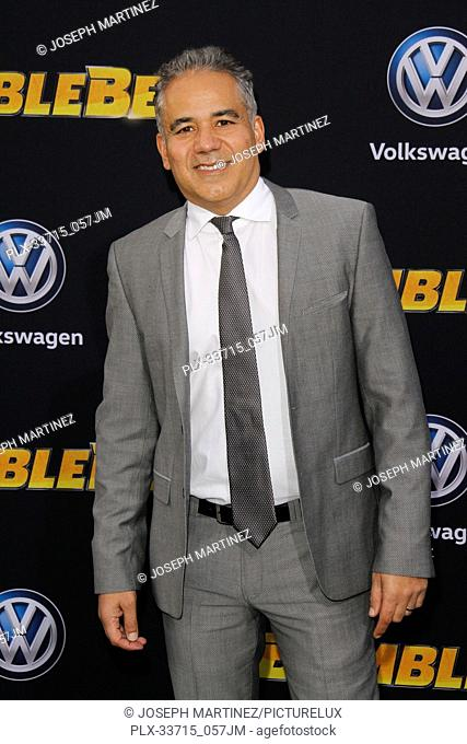 """John Ortiz at the Premiere of Paramount Pictures' """"""""Bumblebee"""""""" held at the TCL Chinese Theatre in Hollywood, CA, December 9, 2018"""