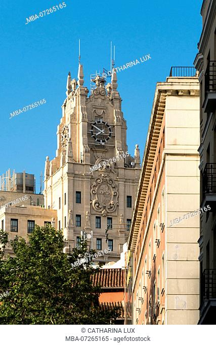 Madrid, building, Fundacion Telefonica