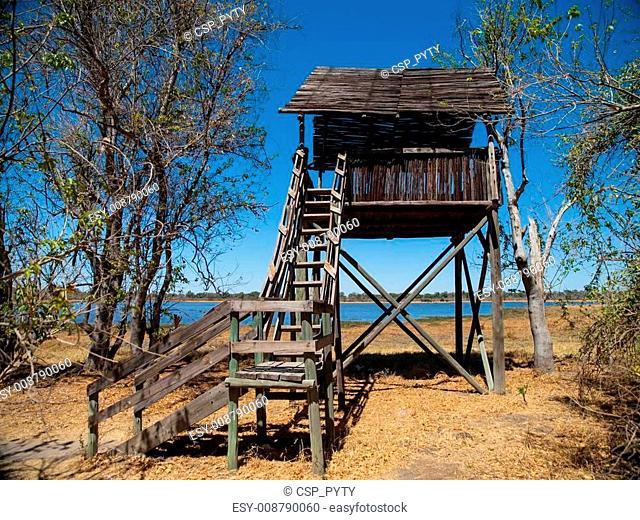 Watch tower near Dombo Hippo Pools