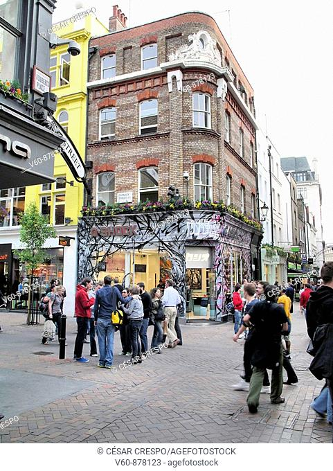 -Carnaby Street in London-
