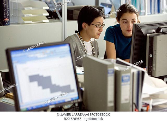 Office, biopharmaceutical lab, Grupo Genetrix, Madrid