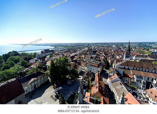 View of Münster on the Old Town, Constance, Lake of Constance, Baden-Wurttemberg, Germany