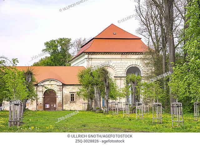 Wallenstein Loggia in Jicin, Bohemian Paradise (Cesky Raj), Czech Republic