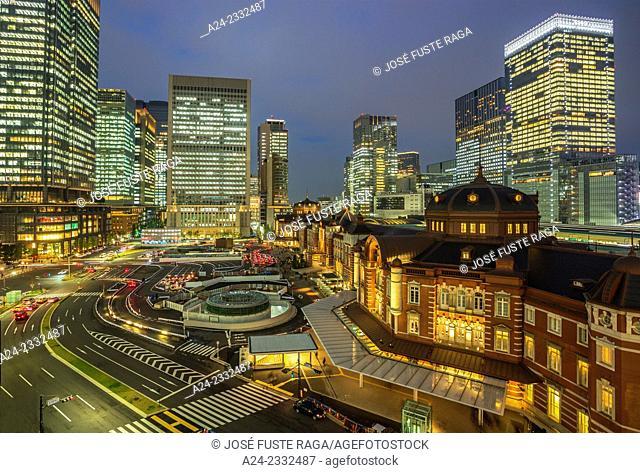 Japan , Tokyo City,Tokyo Station west side