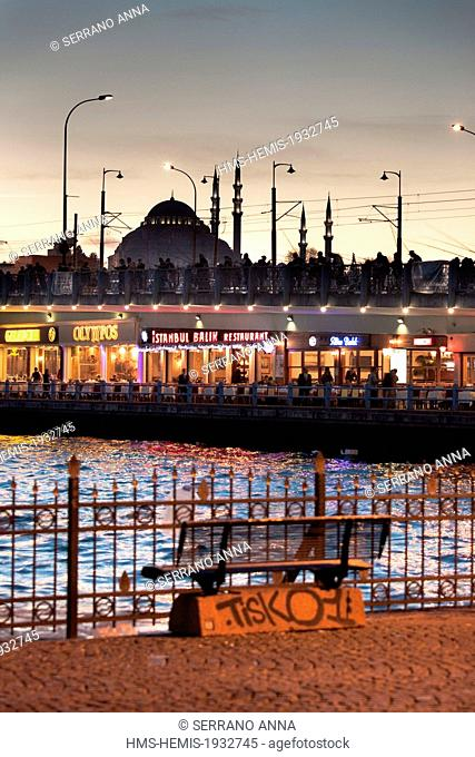 Turkey, Istanbul, historical centre listed as World Heritage by UNESCO, Suleymaniye District, Suleymaniye Camii (Suleymaniye Mosque) built by architect Mimar...