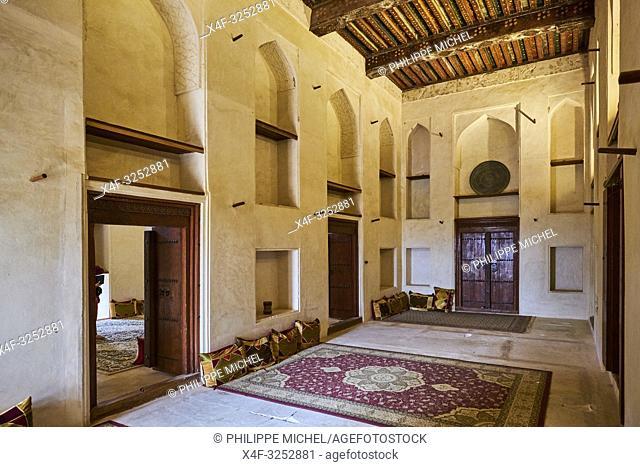 Sultanat d'Oman, région de Al-Dakhiliyah, montagnes du Hajar occidental, château de Jabrin /Sultanate of Oman, Ad-Dakhiliyah Region