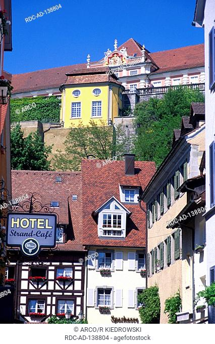 Meersburg Lake Constance Baden-Wurttemberg Germany