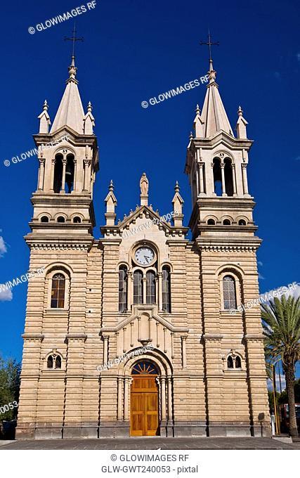 Facade of a church, Iglesia Purisima Concepcion De Maria, Aguascalientes, Mexico