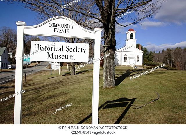 Centre Congregational Church during the autumn months  Located in Gilmanton, New Hampshire USA   Notes  This church is listed on the National Register of...