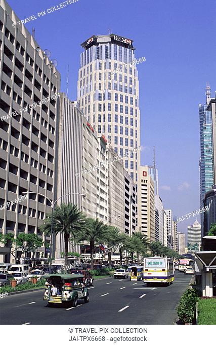 Philippines, Manila, Makati Business District