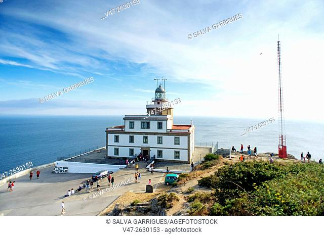 Lighthouse Finisterre, the end of the world, A Coruña, Galicia, Spain, Europe