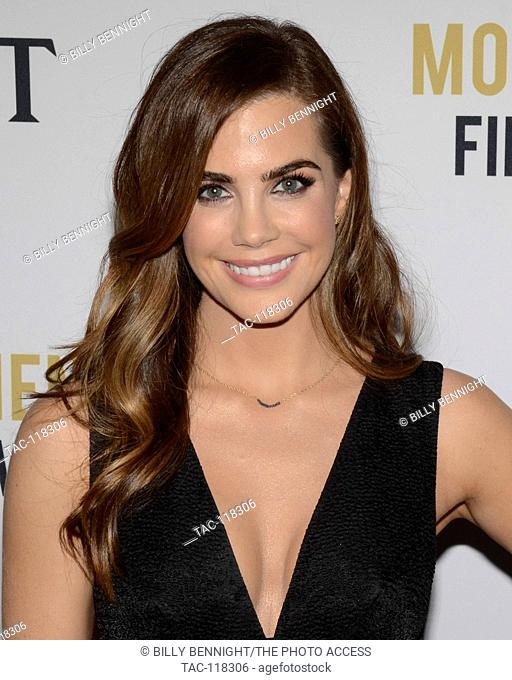 Jillian Murray attends the 2nd Annual Moet Moment Film Festival and Kick Off of Golden Globes Week at the Doheny Room in West Hollywood, California on January 5