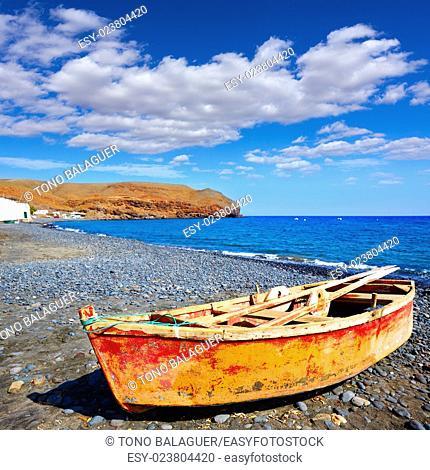 La Lajita beach Fuerteventura at Canary Islands of Spain