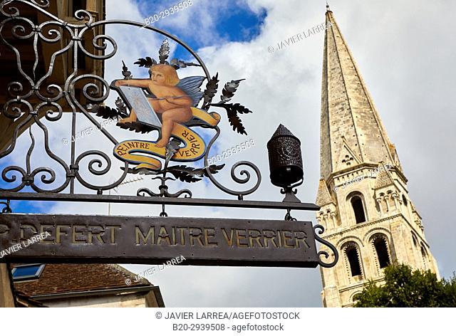 Abbaye Saint-Germain, Auxerre, Yonne, Burgundy, Bourgogne, France, Europe