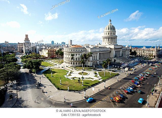 The Capitol, Centro Havana District, Havana, Cuba