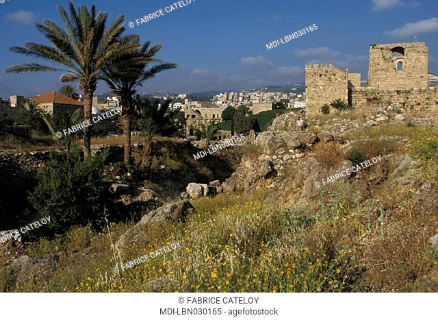 Byblos - Medieval city - Crusaders' castle