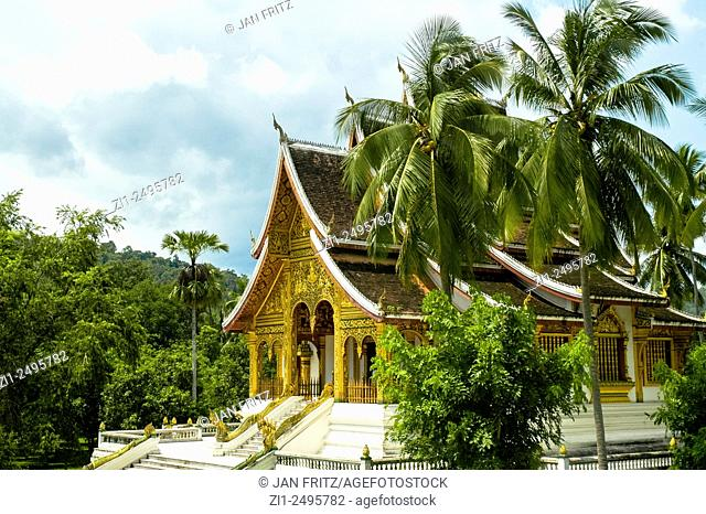 Xiengthong temple at Luang Prabang, Laos