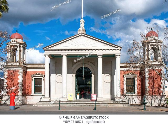 Historic Market Building in the Victorian goldfields town of Castlemaine, Australia