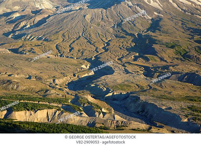 St Helens from Johnston Ridge, Spirit Lake Memorial Highway, Mt St Helens National Volcanic Monument, Washington