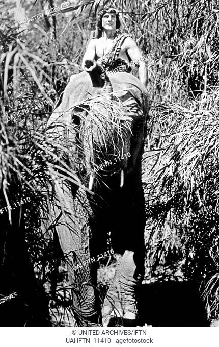Tarzan The Tiger, aka: Tarzan der Tiger, USA 1929, Regie: Henry MacRae, Darsteller: Frank Merrill