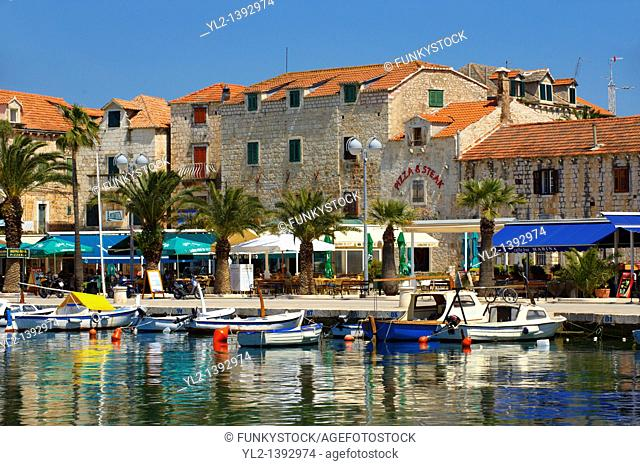 Supetar harbour, Brac island, Croatia