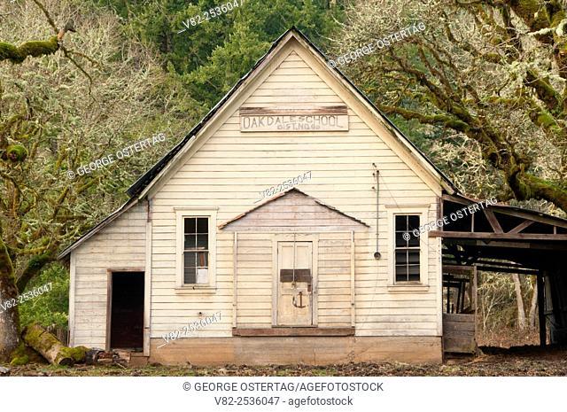 Oakdale School, Marion County, Oregon