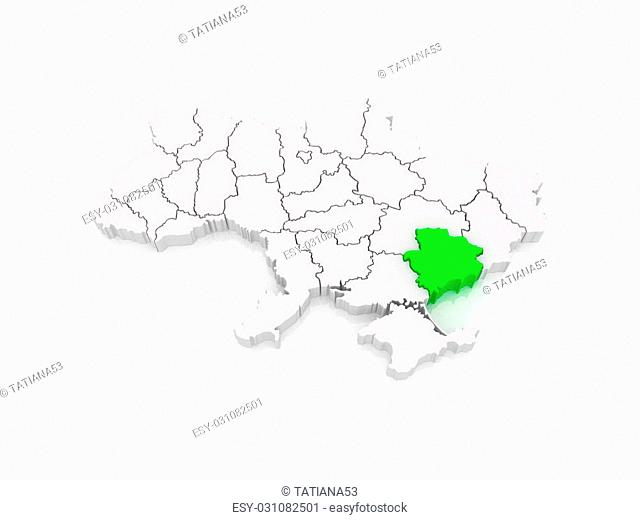 zaporozhye ukraine map