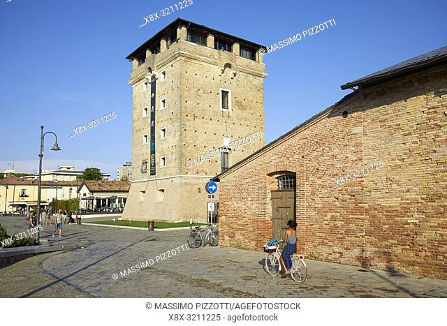 St. Michael Tower in Cervia, Italy