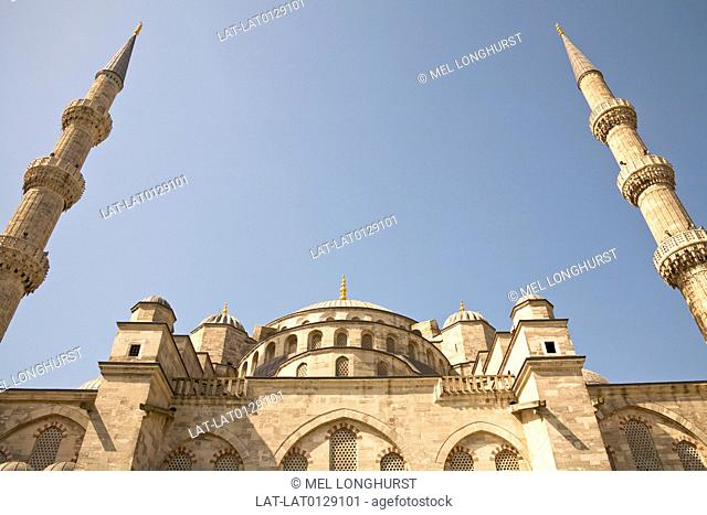 The 17th century Blue Mosque known as The Sultan Ahmed Mosque or Sultanahmet Camii is the national mosque of Turkey.The mosque is one of several mosques known...