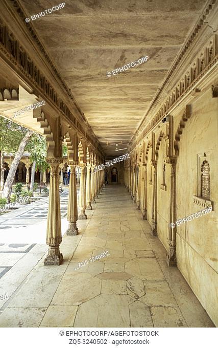 Corridor of City Palace, Udaipur, Rajasthan