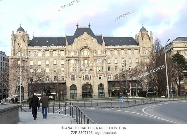 Gresham palace Four season hotel at Budapest