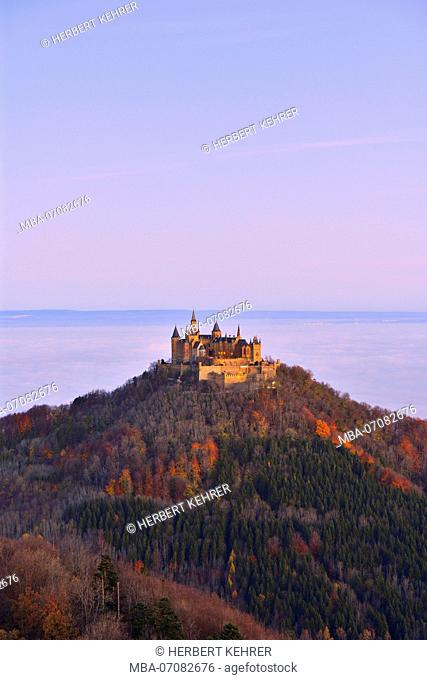 Hohenzollern Castle, Hechingen, Baden-Wurttemberg, Germany