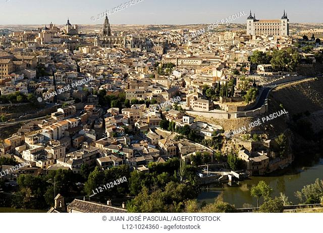 Toledo general view, Castilla-La Mancha, Spain